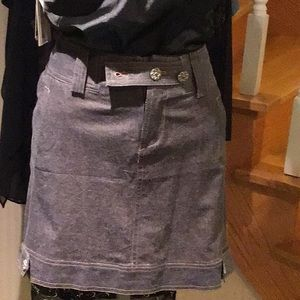 Grey mini skirt,jacket and pants sold separately